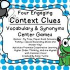 Your students will love these context clue/vocabulary games!  Paper Rock Scissors Partner Game-  Students must answer vocab/context clue questions b...