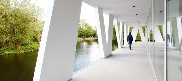 Art Pavilion in Videbæk :: Henning Larsen Architects.  #allgoodthings #danish #architecture spotted by @missdesignsays