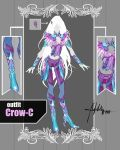 CLOSED Adoptable Auction: Outfit Crow-C by Hassly