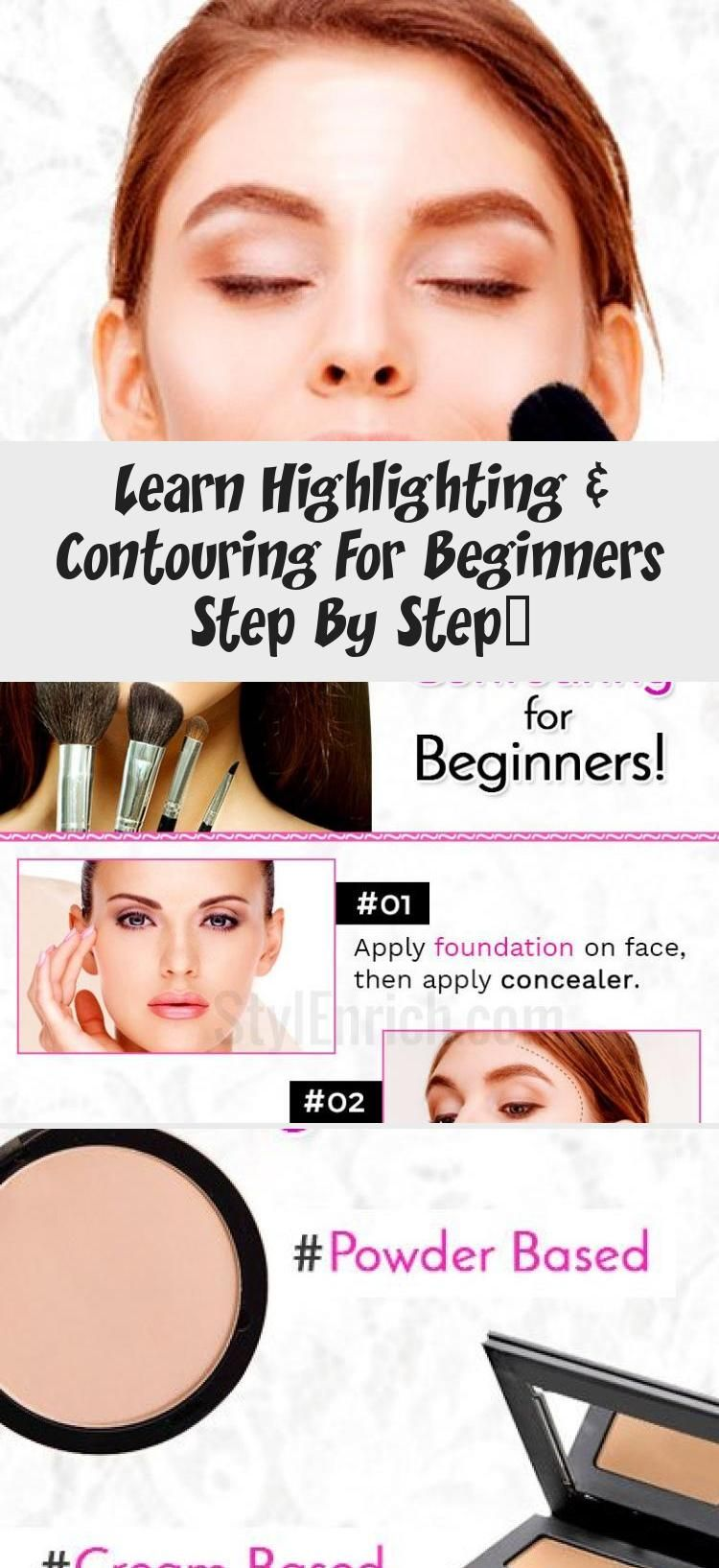 Photo of Learn Highlighting & Contouring For Beginners Step By Step… – Beauty