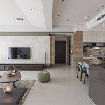 Fresh and elegant residential in Taiwan by HOZO interior design - MyHouseIdea