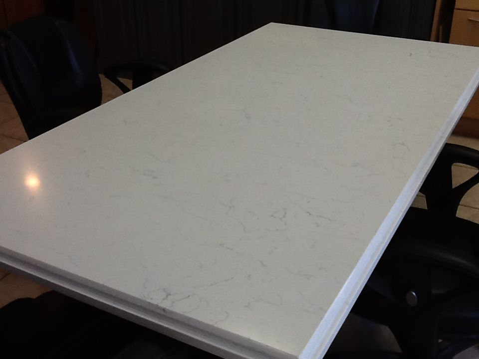 POMPEII Quartz Conference Table In WHITE LIGHTNING. View This Plus 50 Other  Colors On Our