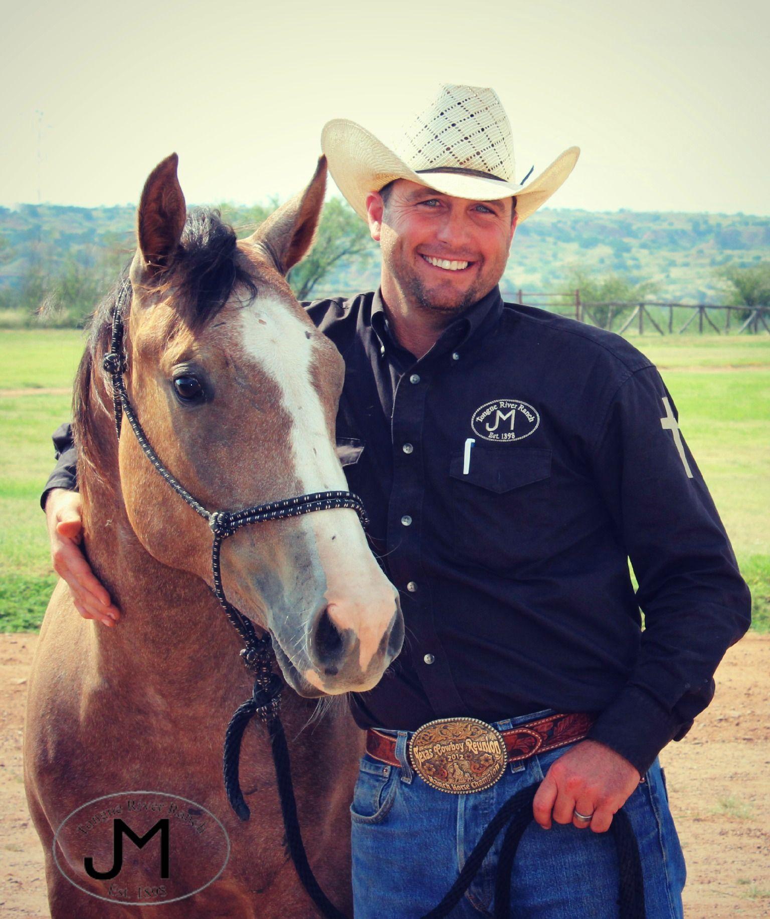 Texas Cowboy Tongue River Ranch Ranch Manager With