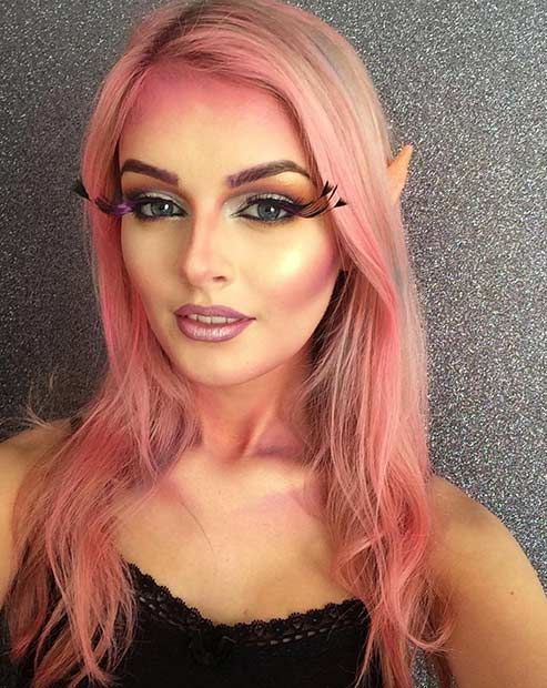23 Pretty and Easy Halloween Makeup Looks Hair Goals Pinterest