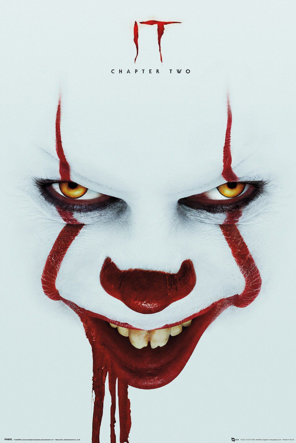 Stephen Kings Es Kapitel 2 Poster Face Pennywise The Dancing Clown Pennywise The Clown Pennywise