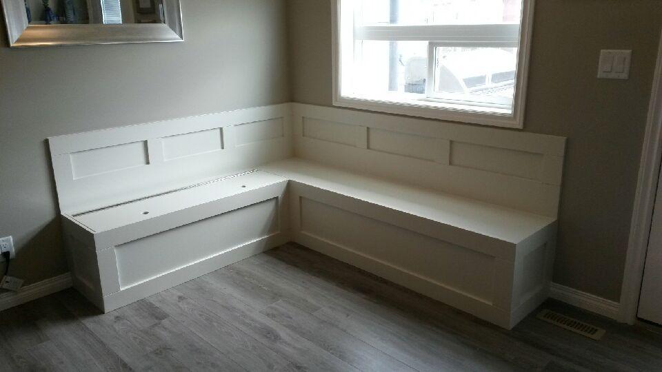 Custom kitchen seating nook's