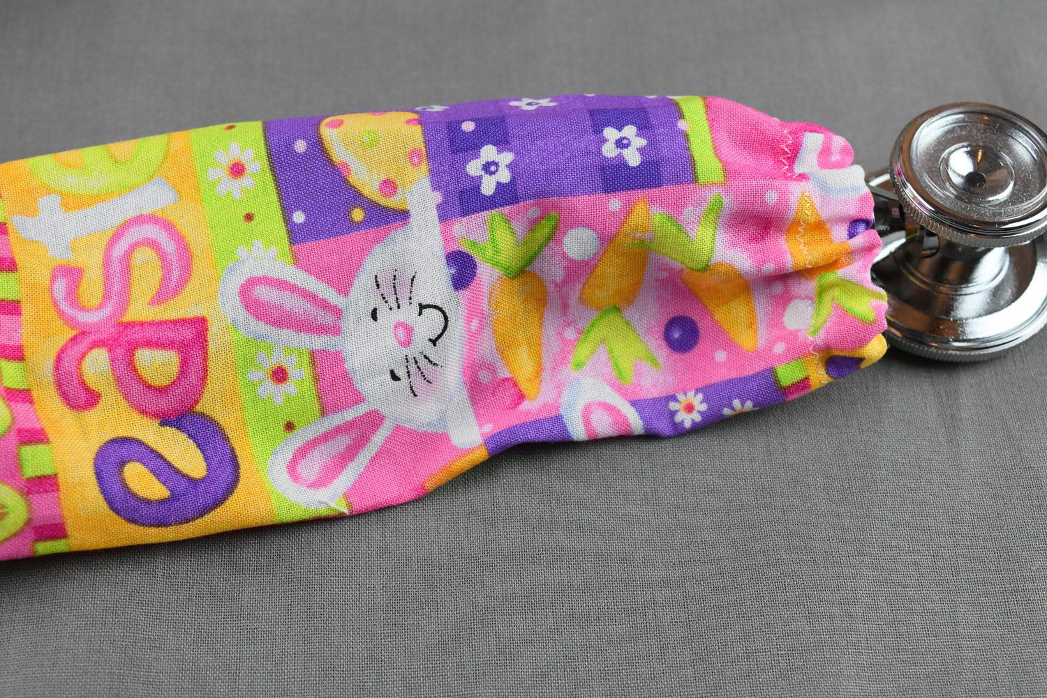 Easter stethoscope cover holiday stethoscope cover handmade easter stethoscope cover holiday stethoscope cover handmade nurse doctor gift stethoscope cord cover easter gift easter bunny negle Images