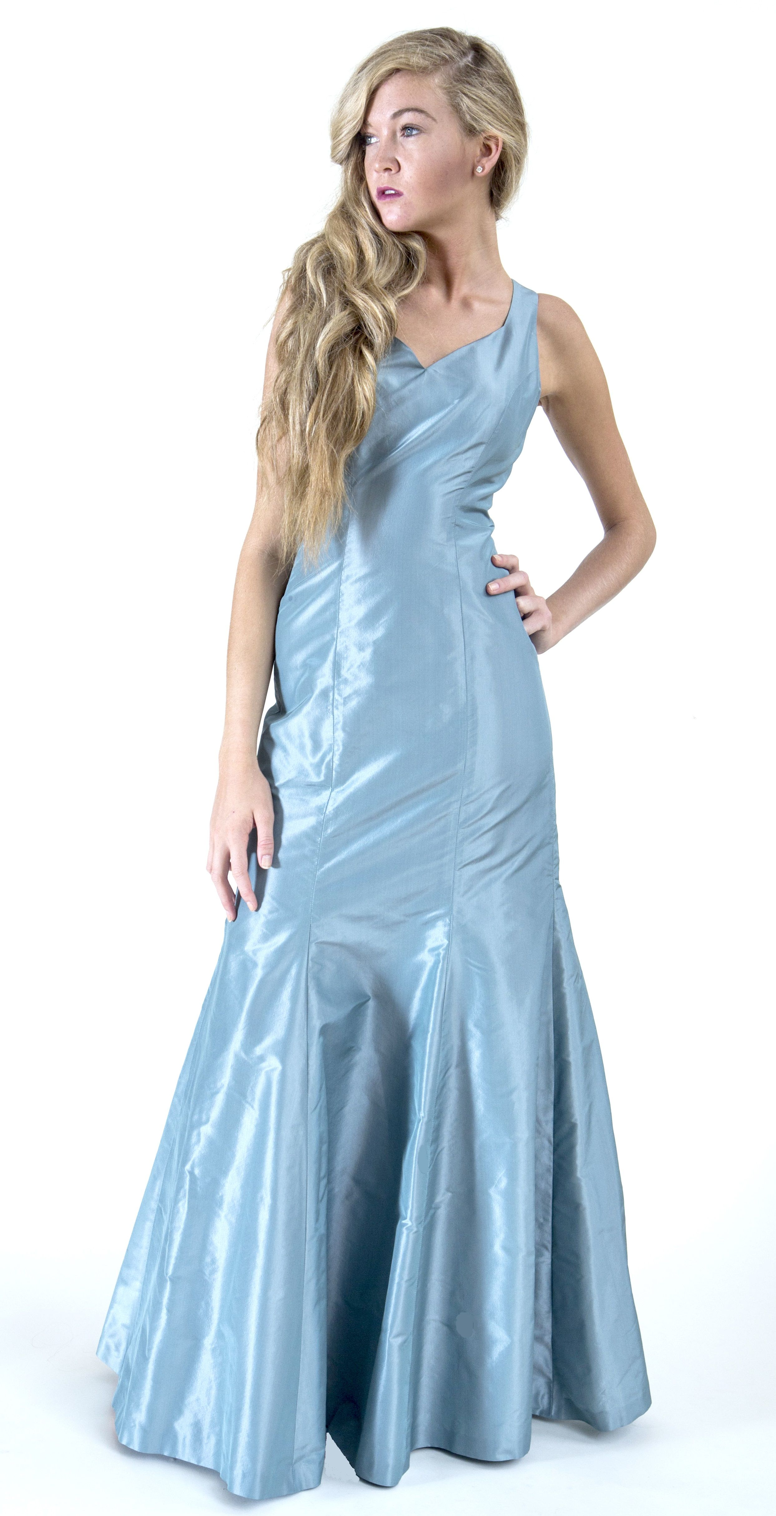 Make it a day to remember... luxurious 100% Silk Taffeta formal ...