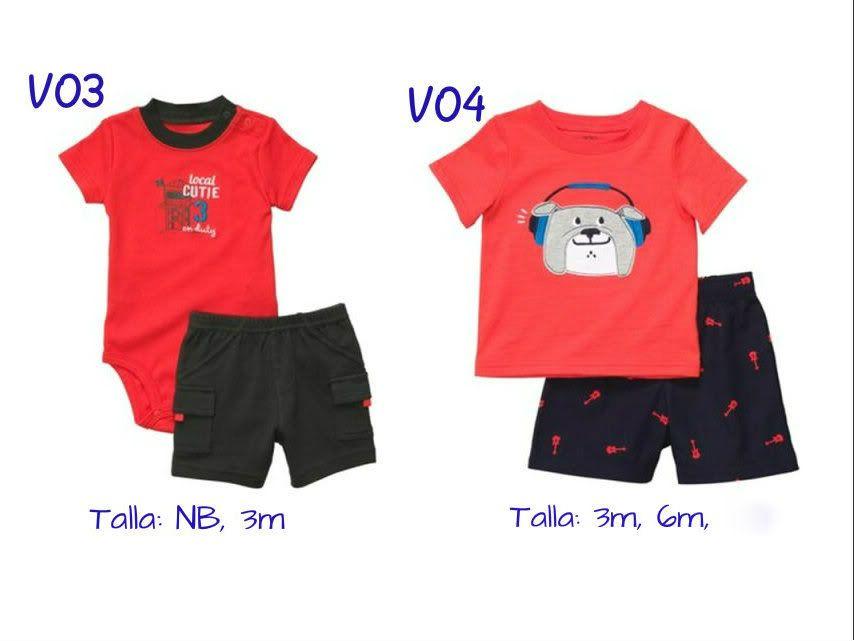 Ropa Carters Para Bebes Varones Y Hembras 100% Importado Usa - BsF 1.200 a122461a055