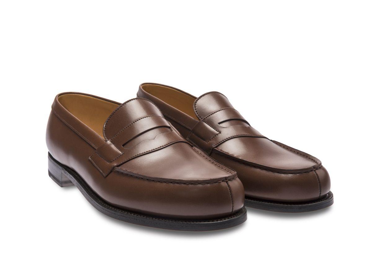 bebd780f2d6254 Weston - Chaussure Homme Cuir- Le Mocassin 180 Noir | Tenue ...