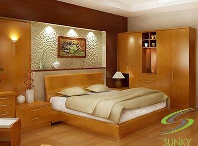 Sử dụng đèn LED phòng ngủ