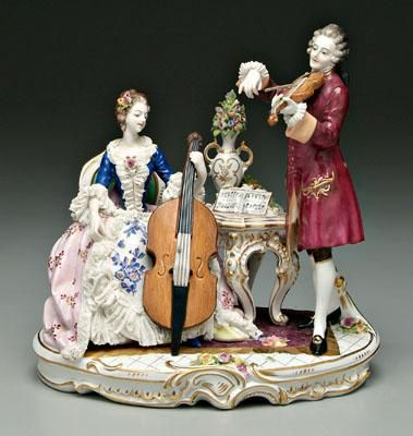 Capo di monte figural group 18th century capo di monte capo di monte figural group 18th century celloviolinprice guide18th century altavistaventures Image collections