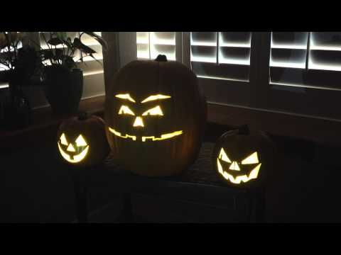 Michael Jackson's Thriller Singing Pumpkin Animati