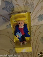 RARE BLONDE HAIRED BLUE EYED NONA LEARNING CURVE MADELINE'S FRIEND  DOLL TOY