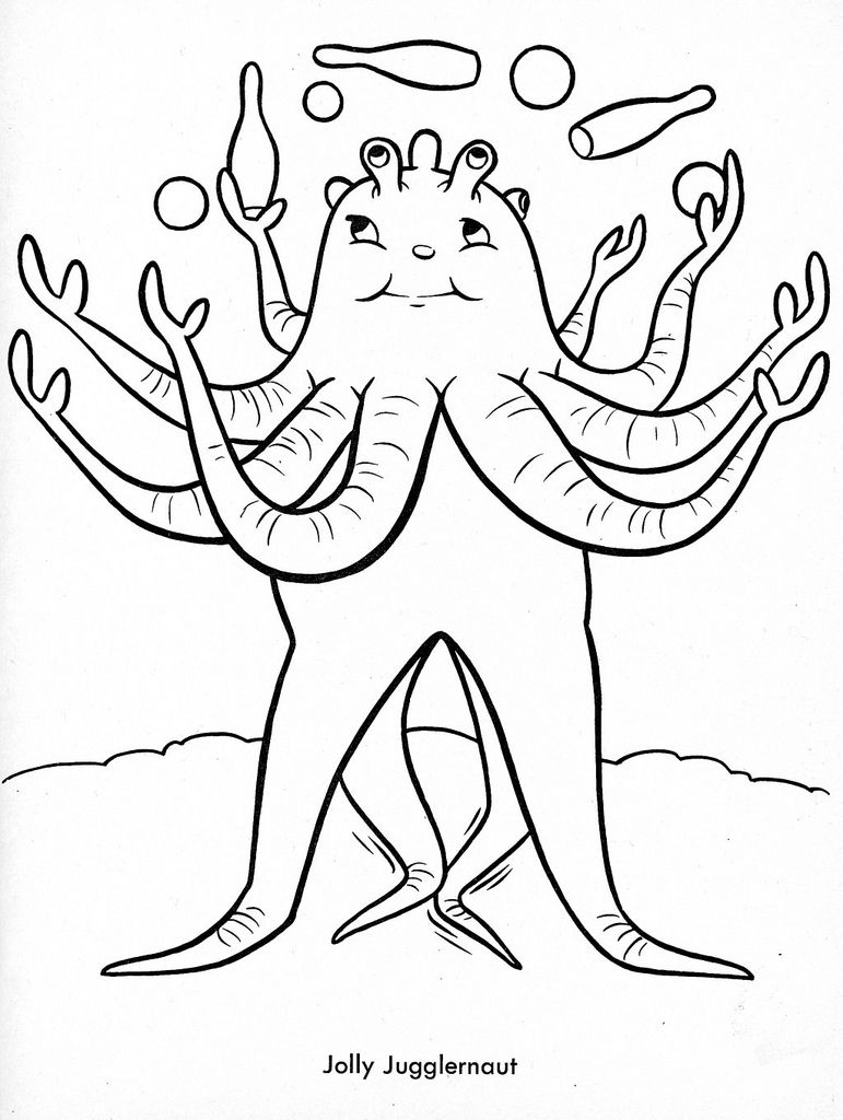 strange coloring page pesquisa google - Funny Coloring Pages