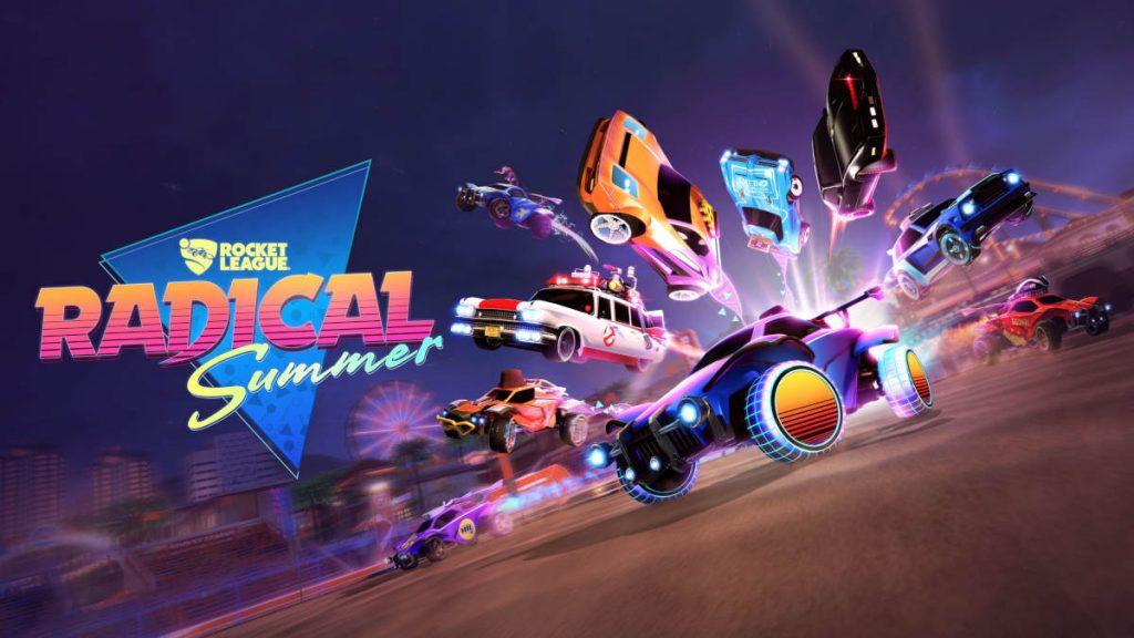 Rocket League Radical Summer Event Starts June 10 Onlineracedriver Rocket League Rocket League Wallpaper Rocket