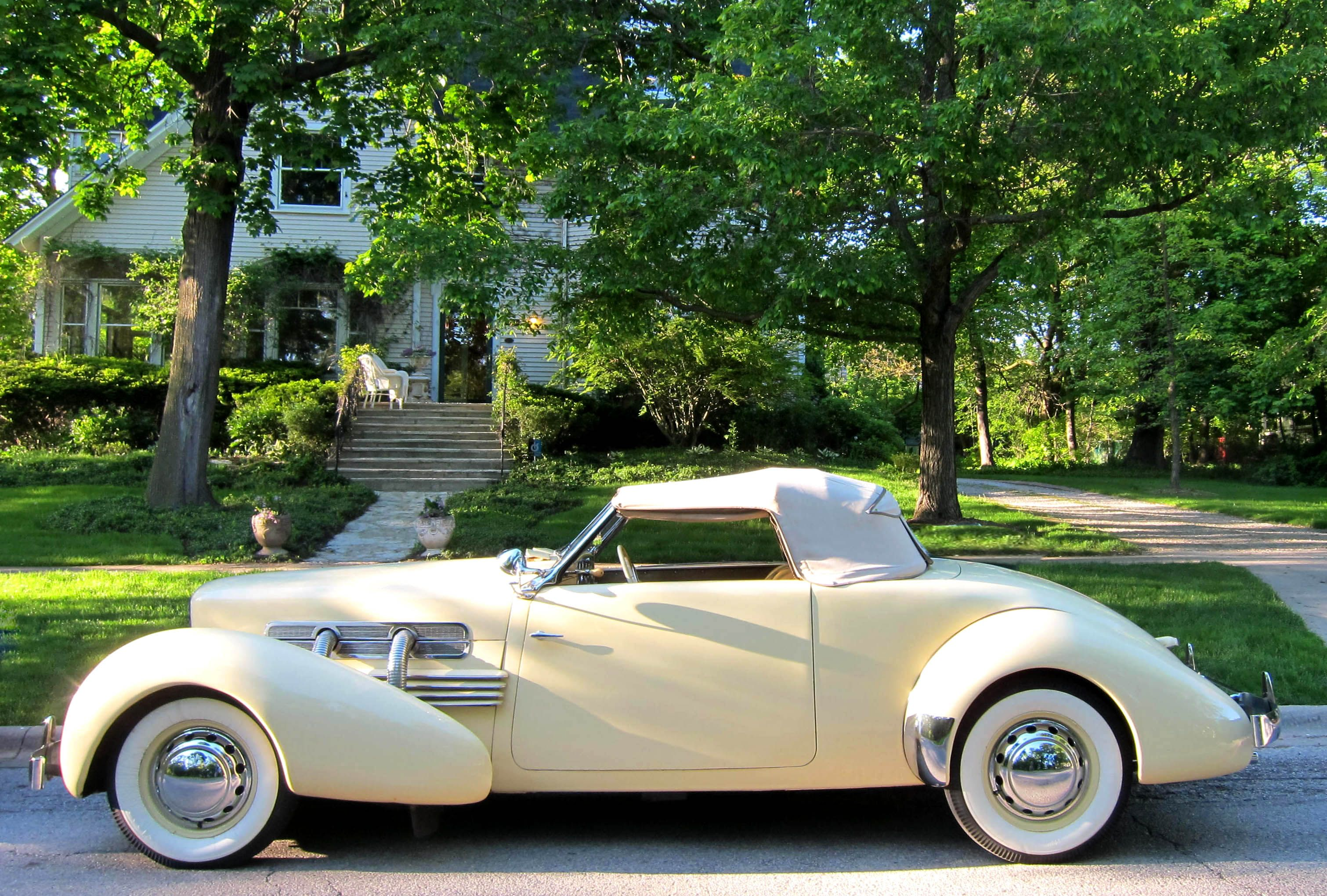 1937 cord glorious styling 1931 to 1940 carz for Cord motor car for sale