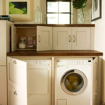 Attrayant Laundry Photos Under Counter Washer Dryer Design, Pictures, Remodel, Decor  And Ideas