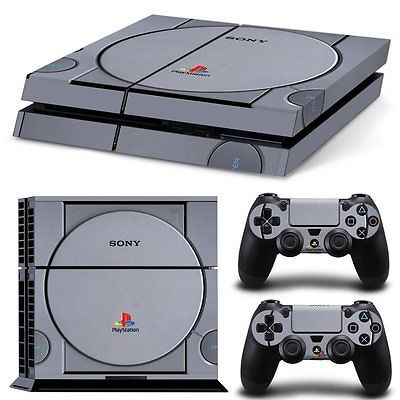 PS4 Skin & Controllers Skin Vinyl Sticker For PlayStation 4- PS1 Retro Vintage https://t.co/stXadAZ8I2 https://t.co/iwI3VaTGVZ