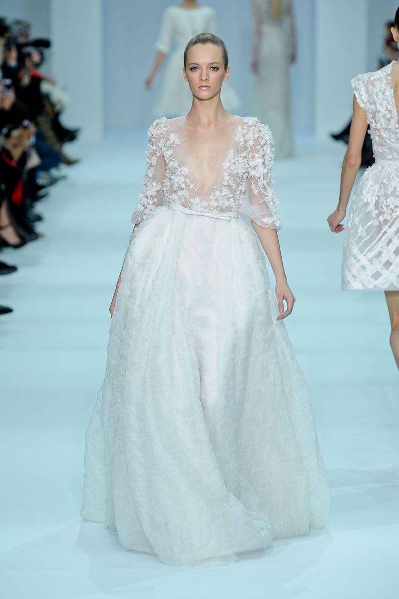 El libanés propone en su colección Primavera/Verano 2012 vestidos de ...