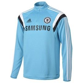 Chelsea Kids (Boys Youth) Training Top 2014 - 2015 (Blue)