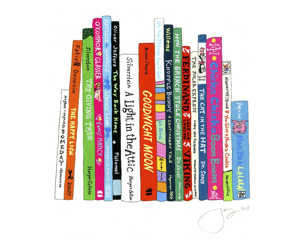 Ideal Bookshelf 314 Artist Will Make Framed Picture Of Favorite Book Spines Very Cool Idea