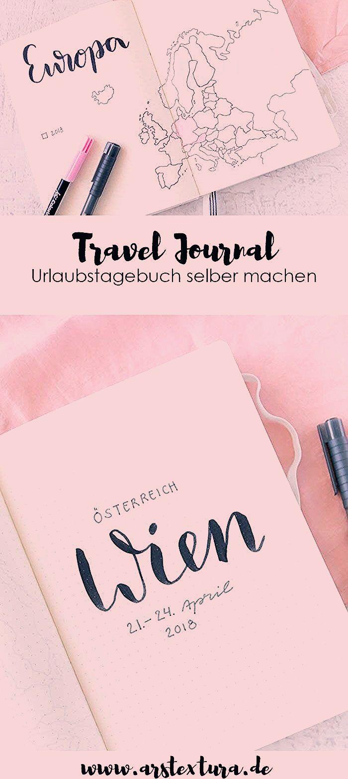 Travel Journal – Der perfekte Begleiter für Reisen | ars textura – DIY-Blog
