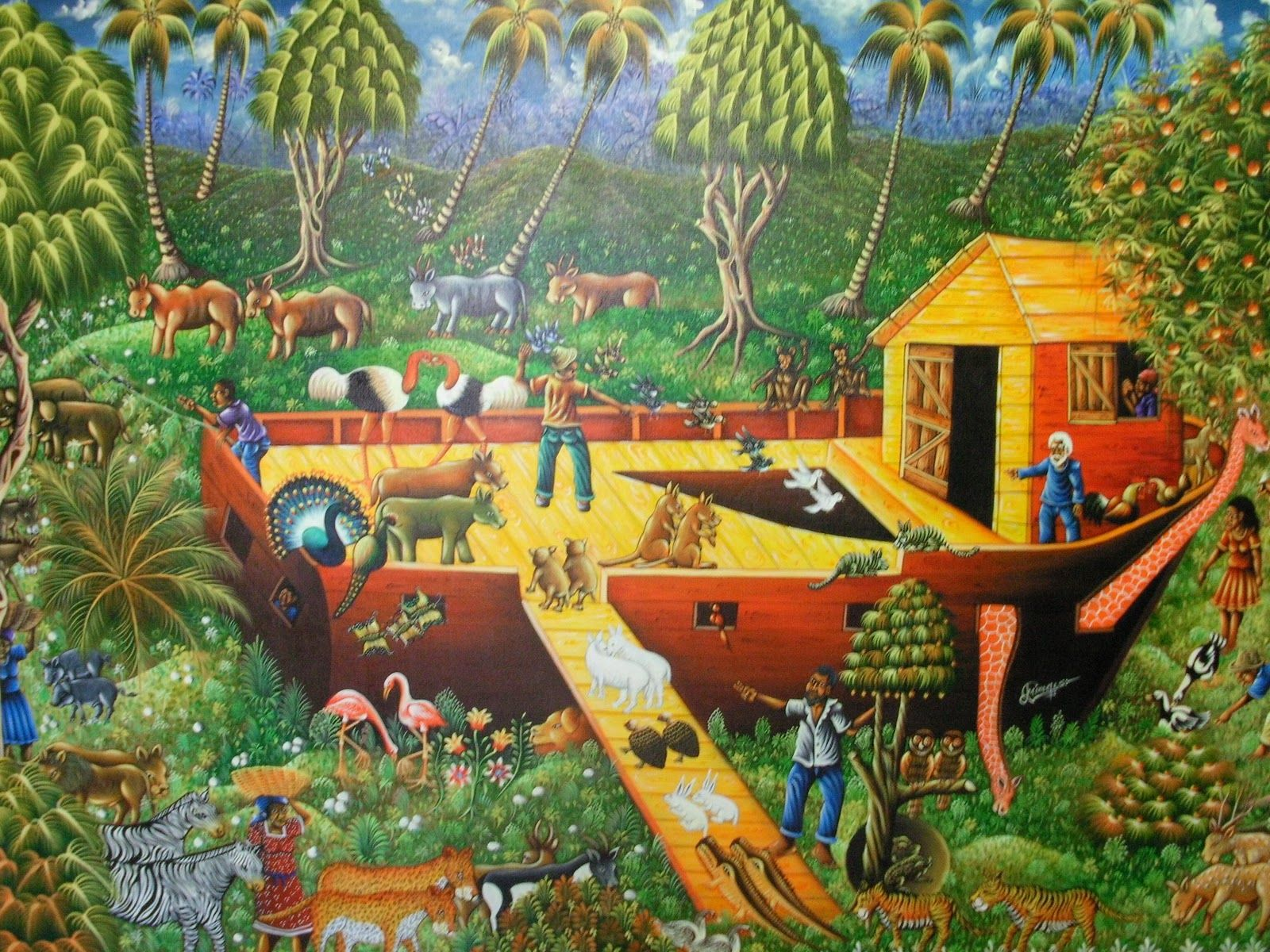 Dominican Art Collection Naive