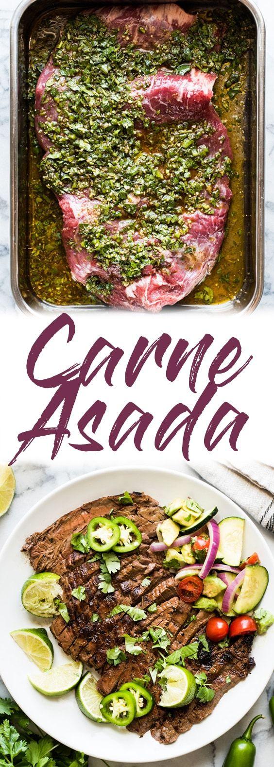 Carne Asada Recipe {Juicy and Flavorful!} - Isabel Eats