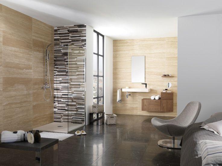 Soluzioni per il bagno aperto in camera da letto