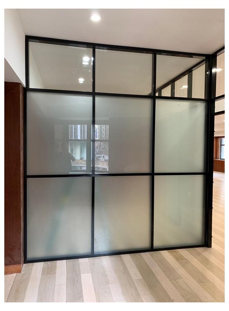Glass Partition Walls With Aluminium Frame Frosted Glass Partition Frostedglasspartition Ou Glass Partition Wall Glass Office Partitions Glass Room Divider Domestic room divider walls