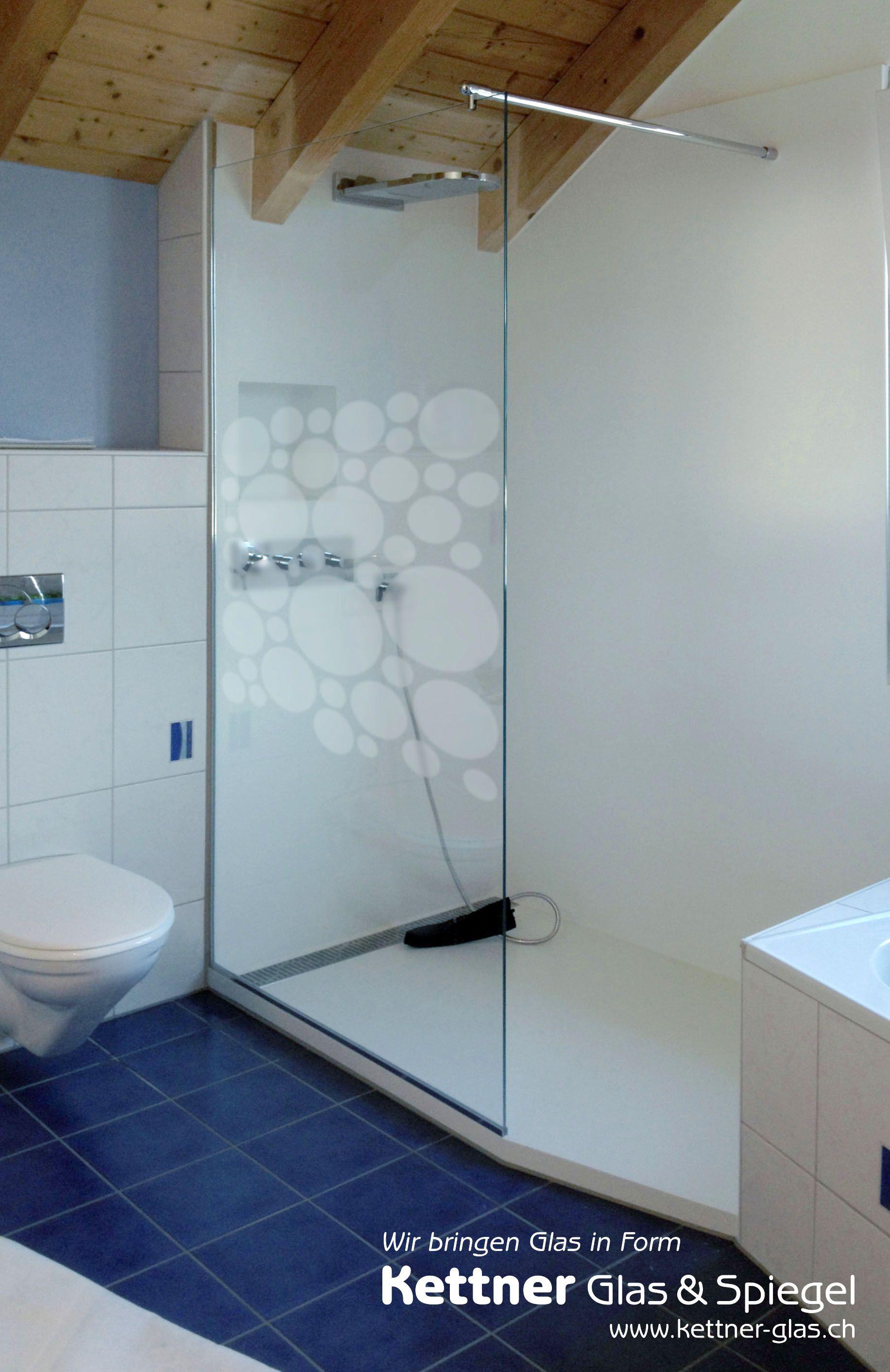 Corian Dusche Mit Individueller Motivatzung Auf Glastrennwand Der Glasabschluss Bei Diesem Badumbau Wurde In Extraweis Glastrennwand Duschwand Badezimmer