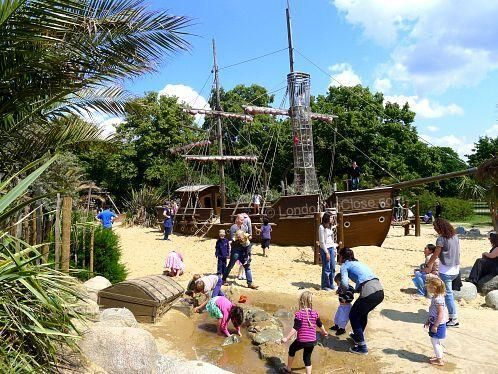Princess Diana Memorial Playground The Pirate Ship And