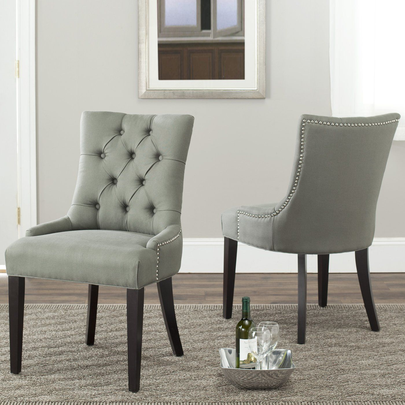 Safavieh furniture mcrcset caylee side chair set of home