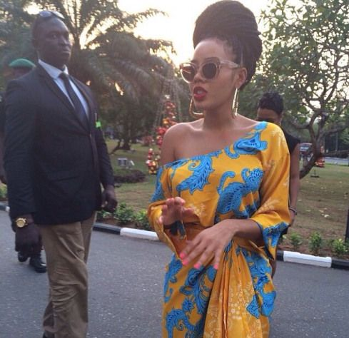 Angela Simmons Nigerian fashion #angelasimmons #angela #simmons #baby #afrikanischerdruck