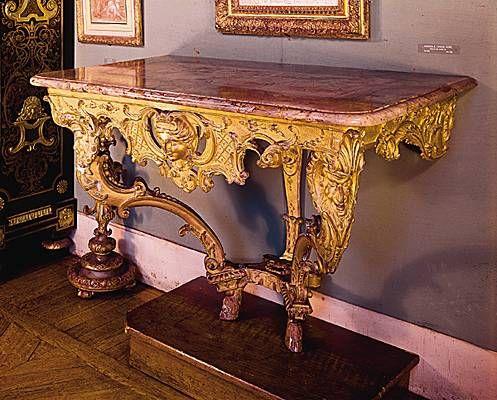 Console | Les Maîtres-ébénistes époque style Louis XIV | Pinterest ...