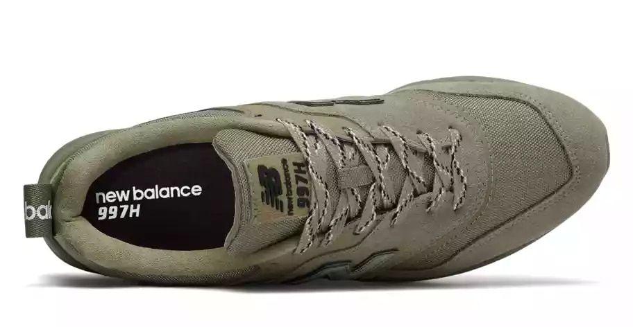 new balance 997h verde