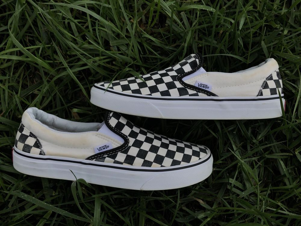 b4ce34229fe2b CHECKERED VANS SLIP ON #fashion #clothing #shoes #accessories  #unisexclothingshoesaccs #unisexadultshoes (ebay link)