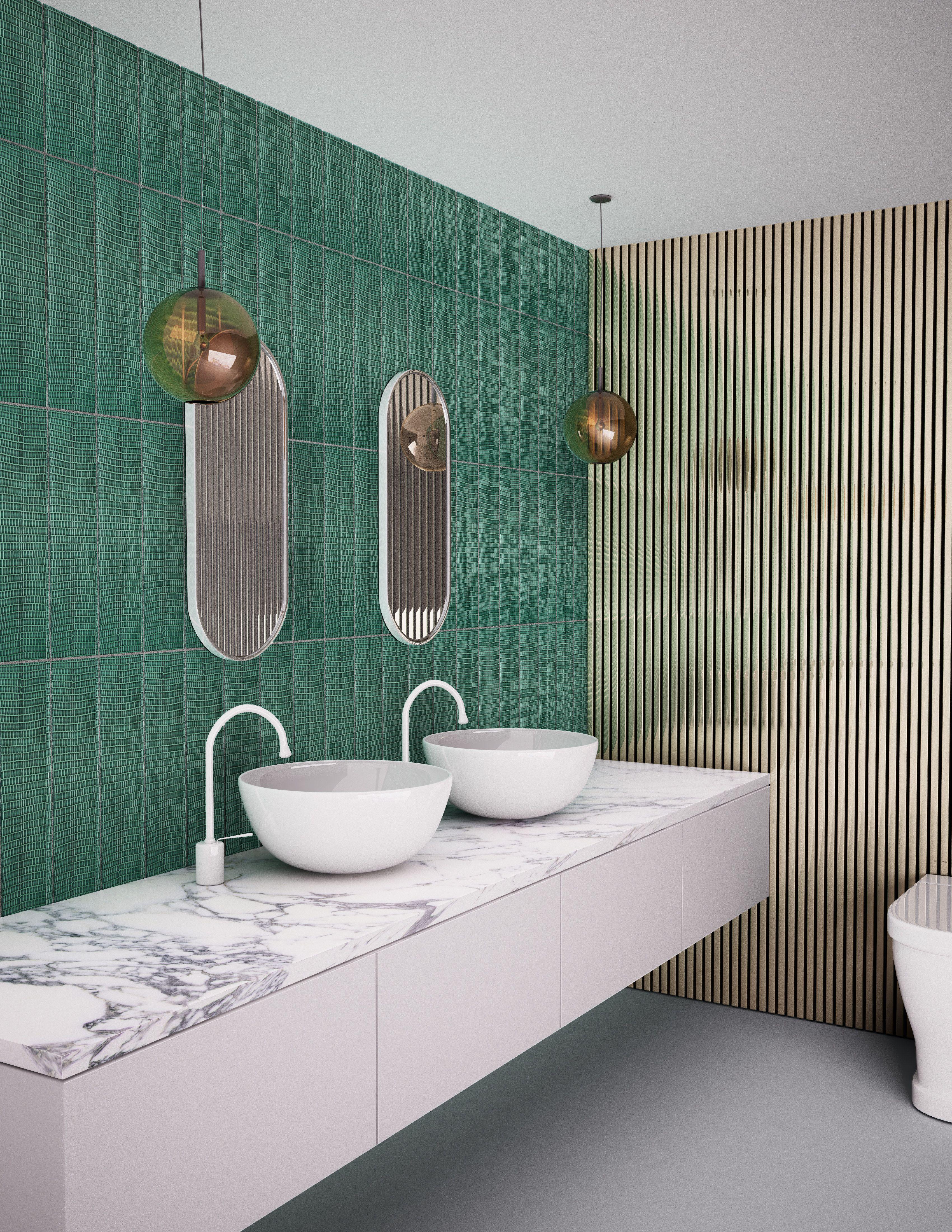 The Best New Tile Trends For 2019 Tile Trends Latest Bathroom Tiles Mosaic Tiles Diy