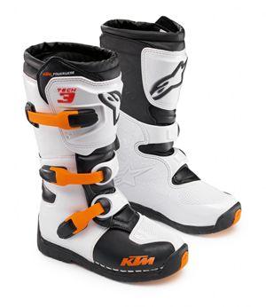 Ktm Tech 3s Kids Mx Boot By Alpinestars Mx Boots Boots Women S Motorcycle Boots