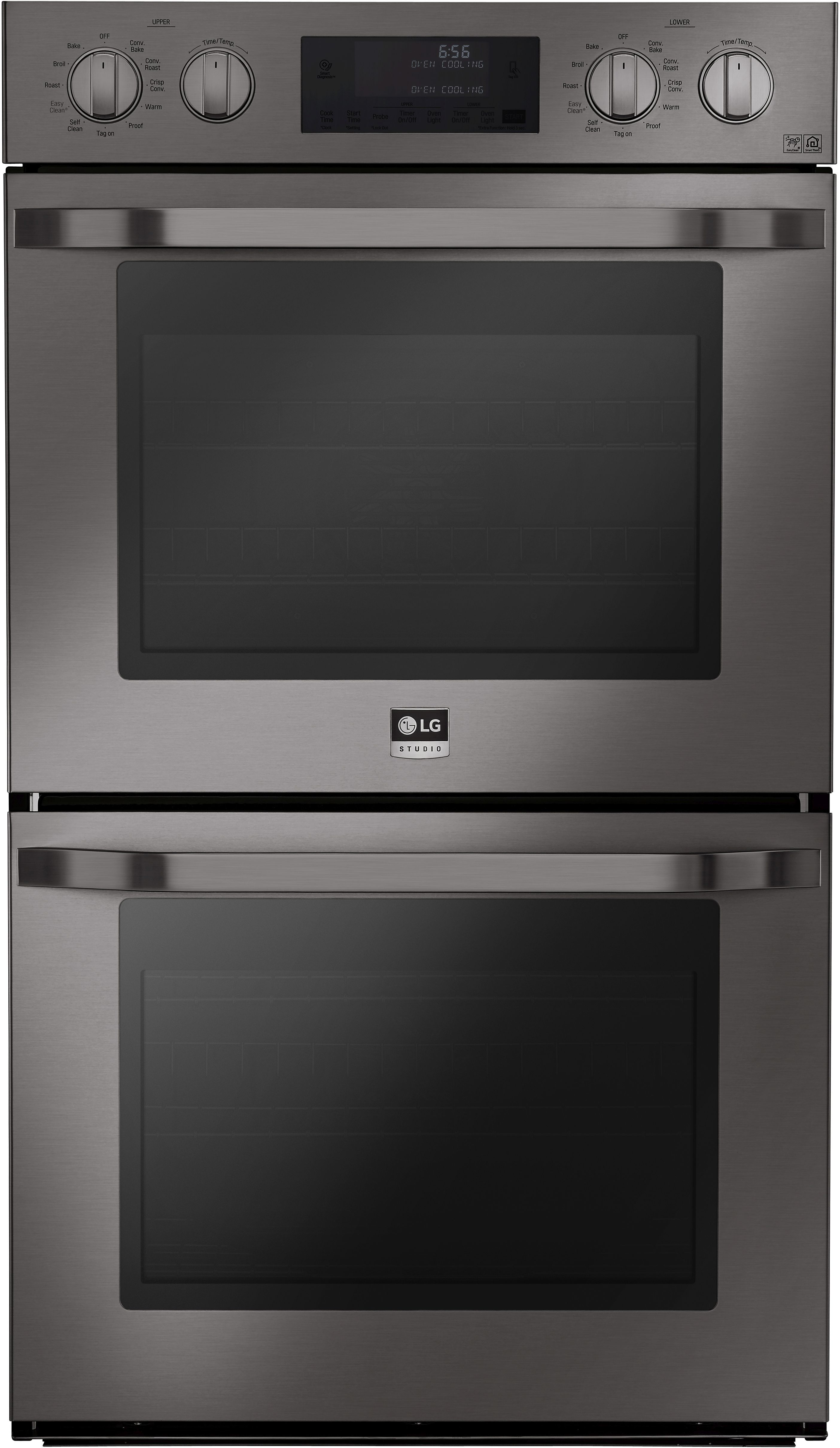LG 30 Black Stainless Steel Single Wall Oven