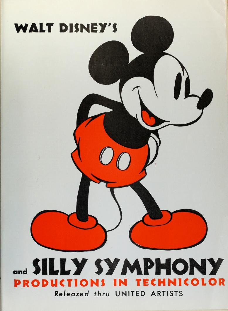 Walt Disney's Mickey Mouse and Silly Simphony Productions in Technicolor Released thru United Artists (The Film Daily, 1936-04-28)