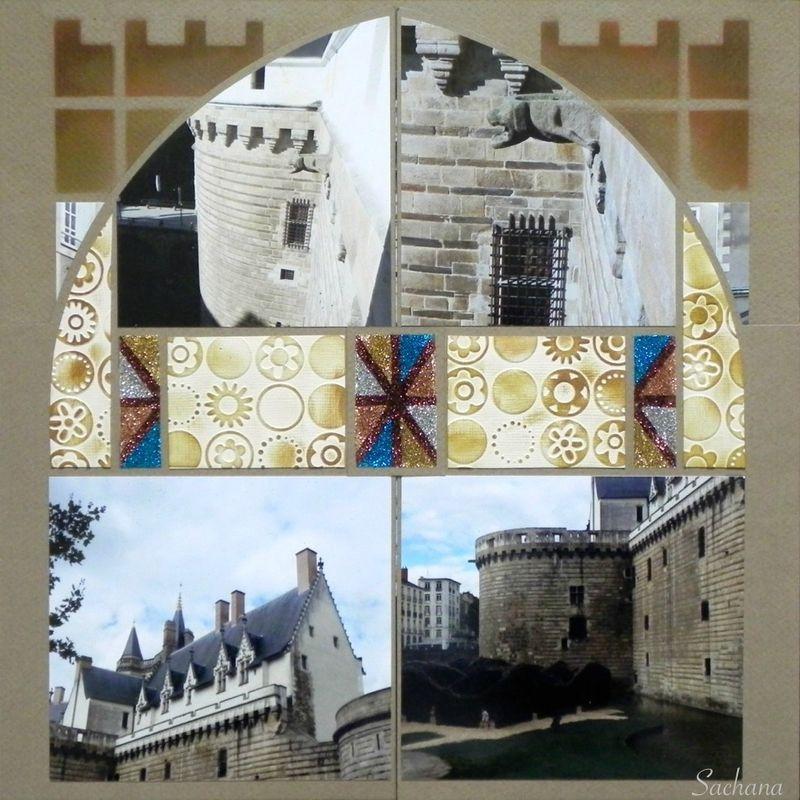 Chateau de la Duchesse Anne - Le scrap de Sachana