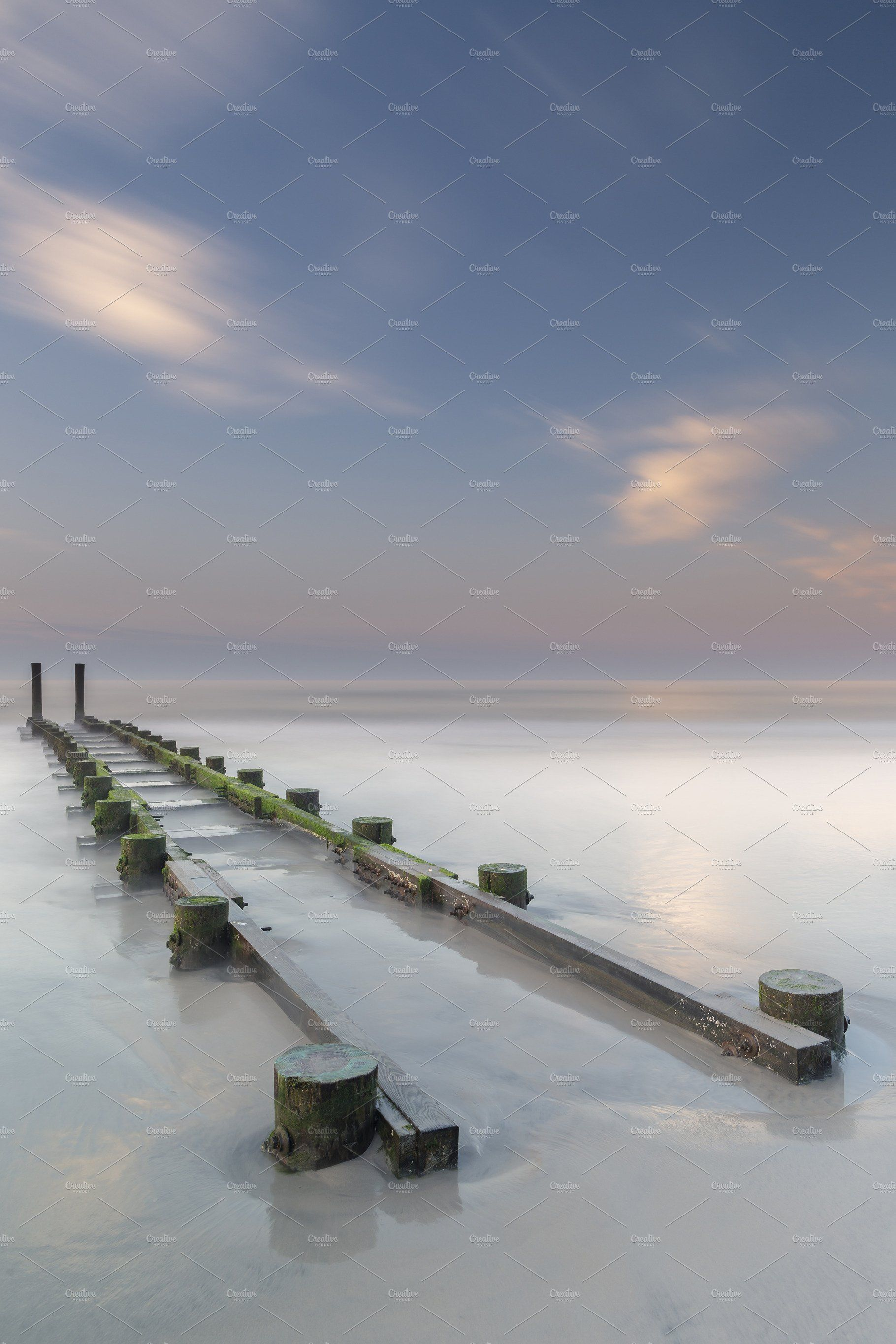 Old Pier In The Ocean At Sunset Sunset Landscape Photography Landscape Photography Long Exposure Landscape