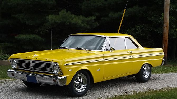1965 Ford Falcon Sprint 289 225 Hp 4 Speed Mecum Auctions Ford Falcon Ford Fairlane Car Ford