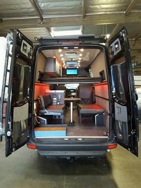 Adv Van Candy Phase I Build Complete Expedition Portal Sprinter Van Conversions Pinterest