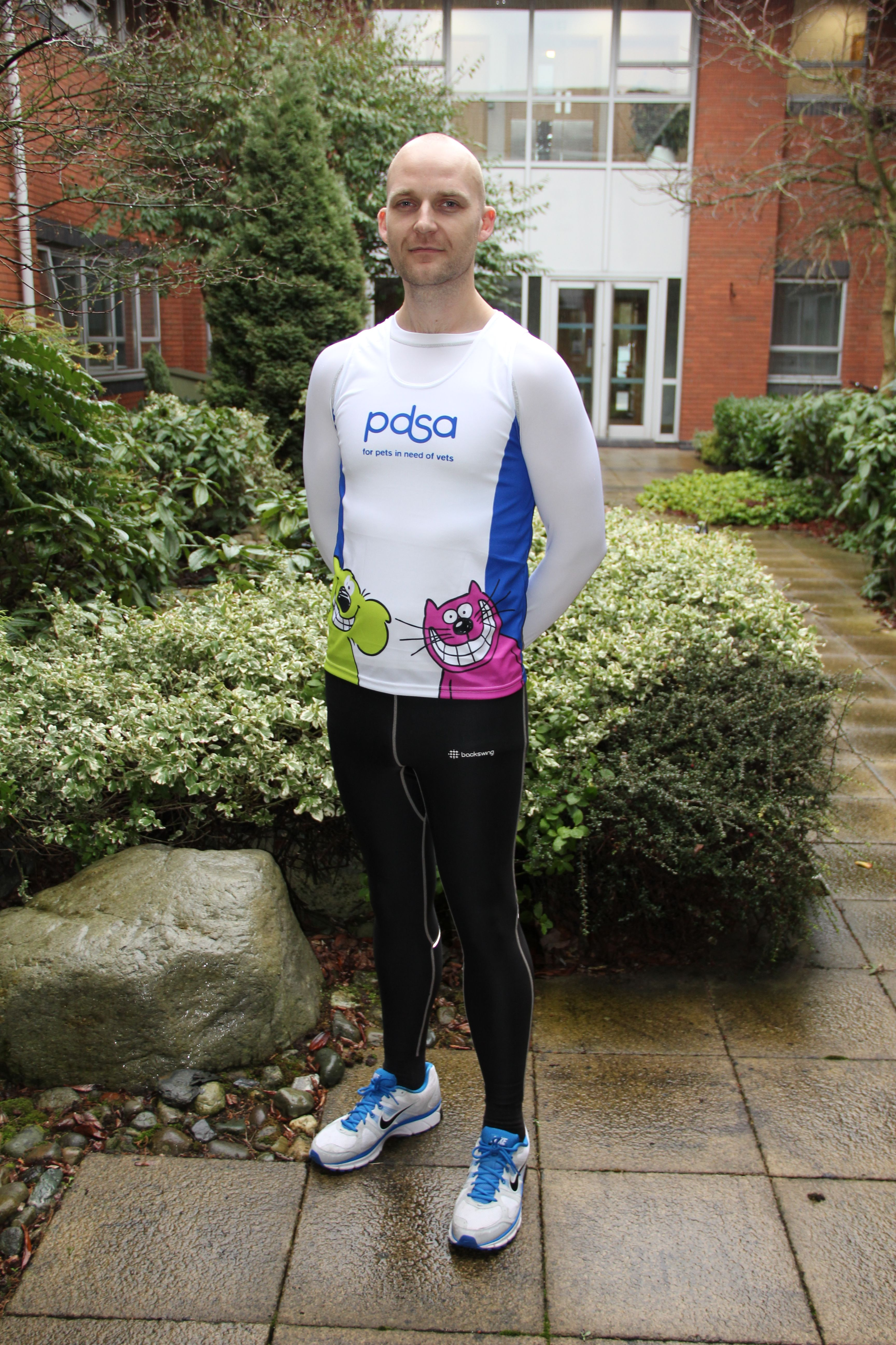 PDSA Capital Appeal Projects Manager, Marc Hornby prepares
