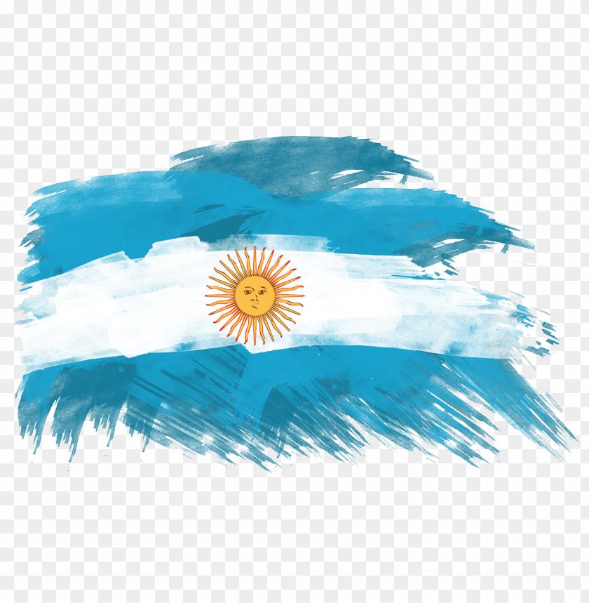 Bandera Argentina Sin Sol Argentina Flag Art Png Image With Transparent Background Png Free Png Images Flag Art Art Argentina Flag
