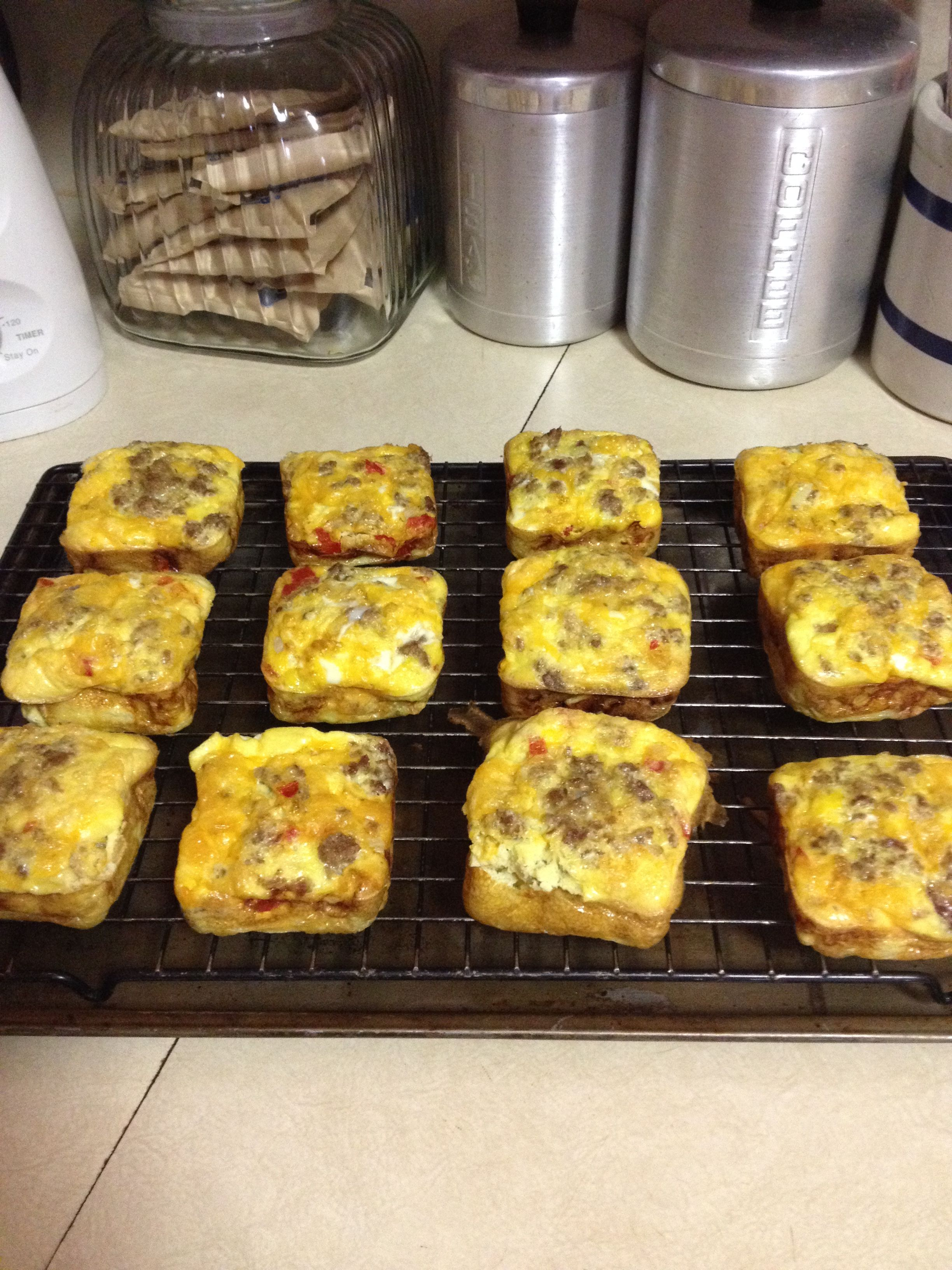 My Recipe Using Pampered Chef Brownie Pan Whisk 12 Eggs With 1