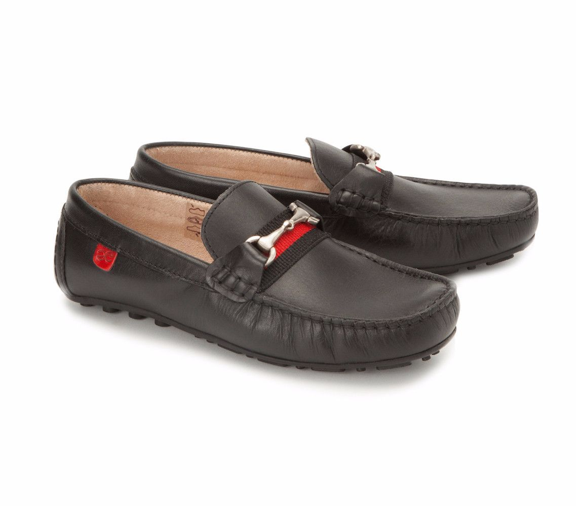 Buy Loafers for Boys Baby - Footwear - Callisto Black Loafers Online India | The Little Shopper